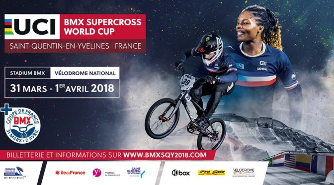 UCI BMX Supercross Saint-Quentin-en-Yvelines, France